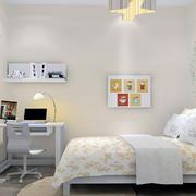 纯白色调儿童房设计