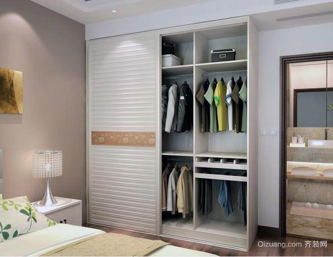 大户型欧式卧室衣柜装修效果图