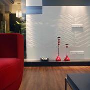 别墅欧式客厅木地板