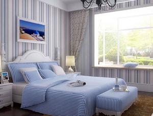 小户型两室地中海风格卧室装修效果图