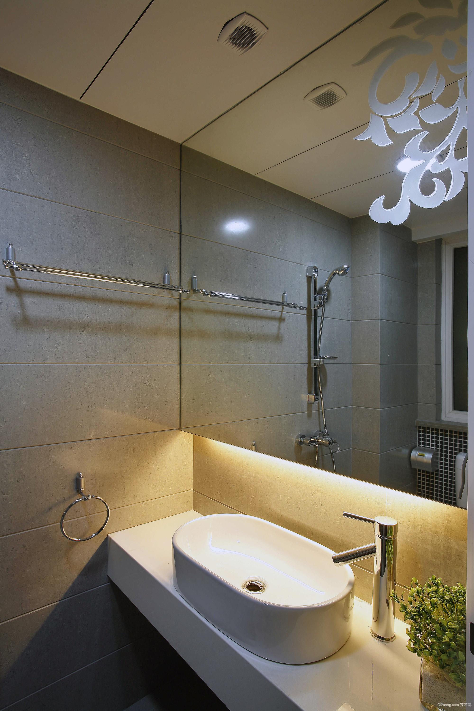 120平米现代大户型欧式别墅装修设计图