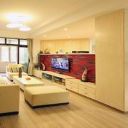 暖色调2层别墅浪漫客厅