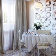 欧式简约餐厅家居装饰