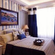 简约风格卧室飘窗设计