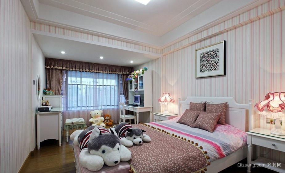 现代流行的卧室唯美装修壁纸图片