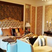 欧式别墅卧室设计
