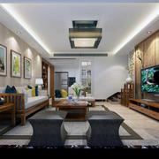 中欧式新款别墅客厅