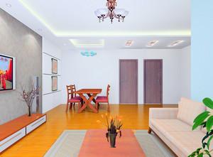 高档小区120平米新房布置图片