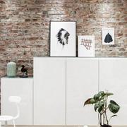 现代化白色简约2层别墅吧台