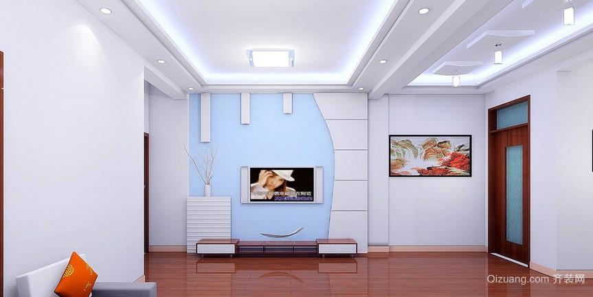 单身公寓环保系列硅藻泥背景墙图片