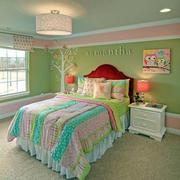 田园卧室绿色装扮