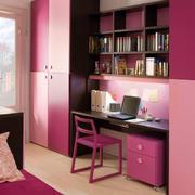 紫色浪漫儿童房