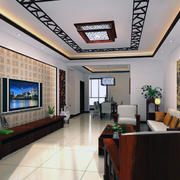 明亮的客厅设计图