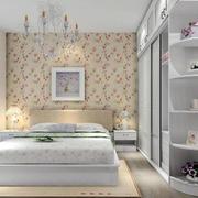 简洁干净的田园卧室