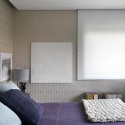别墅紫色床头背景