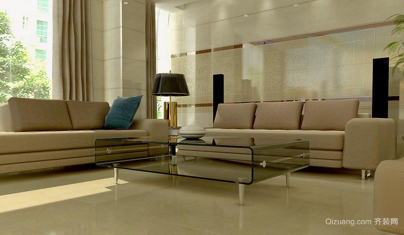 柔软舒适的足疗沙发效果图片