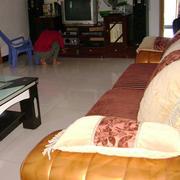 现代简约风格农村房屋客厅沙发装饰
