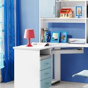 现代简约风格书柜装饰
