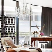 美式客厅简约风格休息椅家居设计