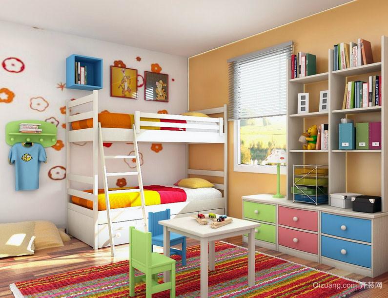 大户型20平米儿童卧室装修效果图