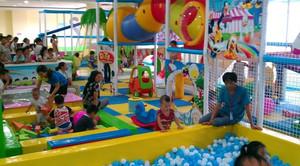 孩子们的天地:大型儿童游乐场效果图片