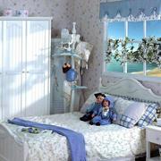 紫色田园卧室设计