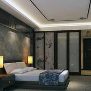 宾馆卧室设计效果图