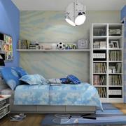 儿童房蓝色装饰