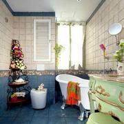 美式卫生间简约置物架装饰