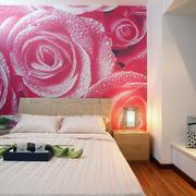 2层别墅浪漫粉嫩色卧室设计