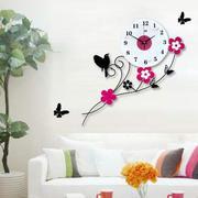客厅彩色时尚钟表