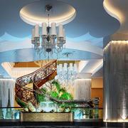 酒店大厅奢华吊顶