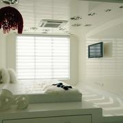 后现代风格纯白色榻榻米装饰