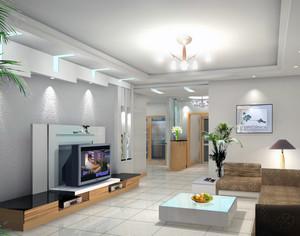 大户型欧式客厅电视柜装修效果图