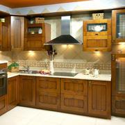 美式风格厨房装潢
