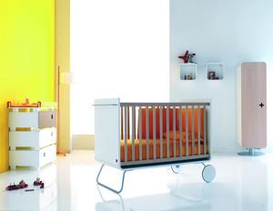 经典大户型儿童房间背景墙装修效果图