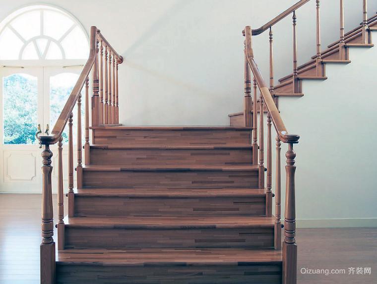 精致大户型家居室内楼梯设计效果图