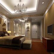 酒店卧室卫生间隔断