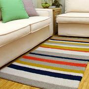 客厅手工地垫装饰