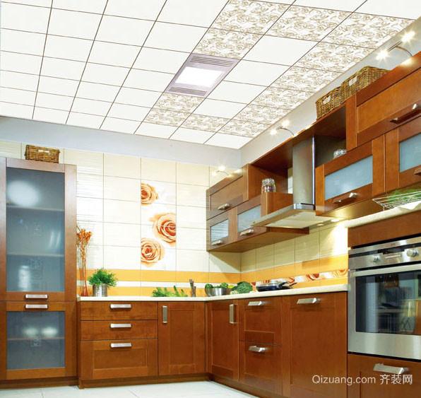 耐用新颖的厨房集成吊顶装修效果图