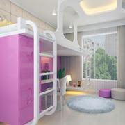 鲜艳的儿童房整体设计