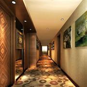 酒店走廊装饰画欣赏