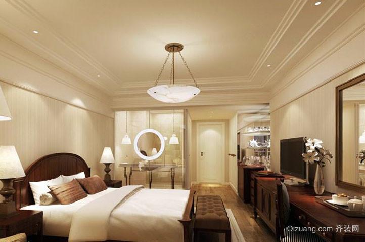 为人提供便利的商务酒店装修图
