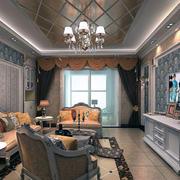 唯美的客厅飘窗设计