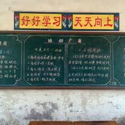 小学教室黑板展示