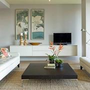 后现代风格简约客厅沙发家居设计