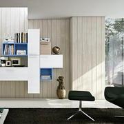 简约风格书柜置物架装饰