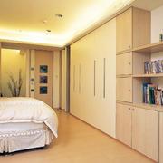 简约风格原木浅色卧室地板装饰