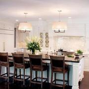 现代美式厨房吊顶