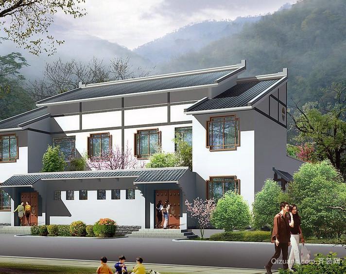 经典简约的农村房屋设计图大全
